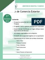 Boletin Comercio Exterior 1S 2012