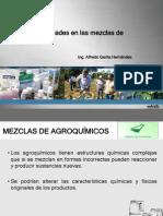 Incompatibilidad de Agroquímicos