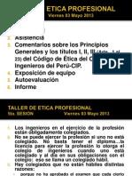 5taSesion Etica 2013-1