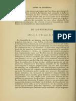 Leido. Sarmiento - De La Biografias