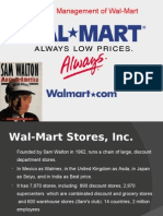 Supply Chain Management of Wal-Mart