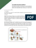 Clases Sociales de La Época Medieval