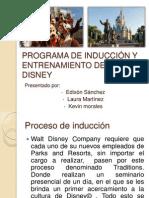 Programa de Inducción y Entrenamiento de Walt Disney