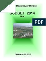 2014 final tentative budget