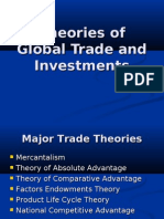 Theories of Global Trade and Investments