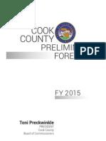 FY15 Preliminary Budget Forecast Report (1.1)