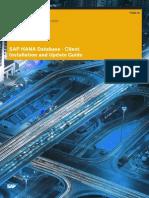 SAP HANA Client Installation Update Guide En