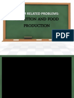 Current Issues Nutrition and Food Production
