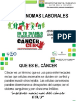Carcinoma Laboral MEDICINA