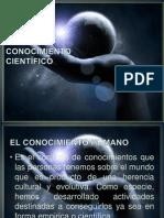 El Conocimiento Científico