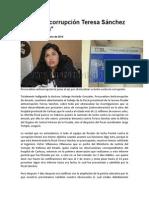 Fiscal Anticorrupción Teresa Sánchez