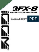 Zoom Gfx-8 Manual en Español