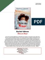 Rachel Gibson - Série Single Novels 02 - Deve Ser Amor