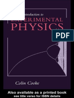 Una Introduccion a La Fisica Experimental