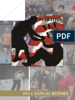 2014 Operation Vet Fit Annual Report