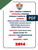 Proyecto La Menta Feria de Ciencias 2014