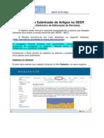 Manual Horizonte Para Submissão de Artigos 2011