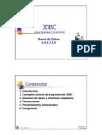 Conexion a Base de Datos - JDBC