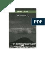 Dennis Lehane - Paciente 67