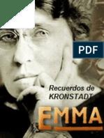 Recuerdos de Kronstadt. Emma Goldman