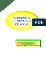 Elementos de Mecanica de Rocas