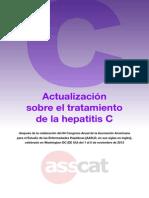 Actualización Tratamientos Hep C 2013.ASSCAT. Castellano
