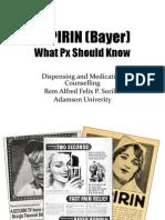 ASPIRIN (Bayer)