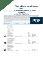 Librería de Dispositivos Para Rastreo GPS
