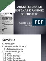92602658 Arquitetura de Sistemas e Padroes de Projeto Aula 01 Parte 01
