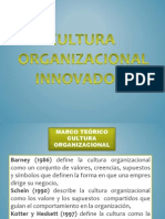 Cultura Organizacional Innovadora