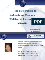 Owasp-peru Chapter Meeting 20140319 Webscarab