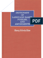 Dictionary of Language Games