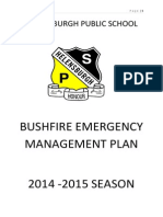 Bushfire Plan 2014