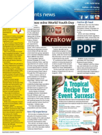 Business Events News for Fri 27 Jun 2014 - World Youth Day, AlliedPRA, Langham upgrade, Travel Industry Exhibition, Rotary and much more