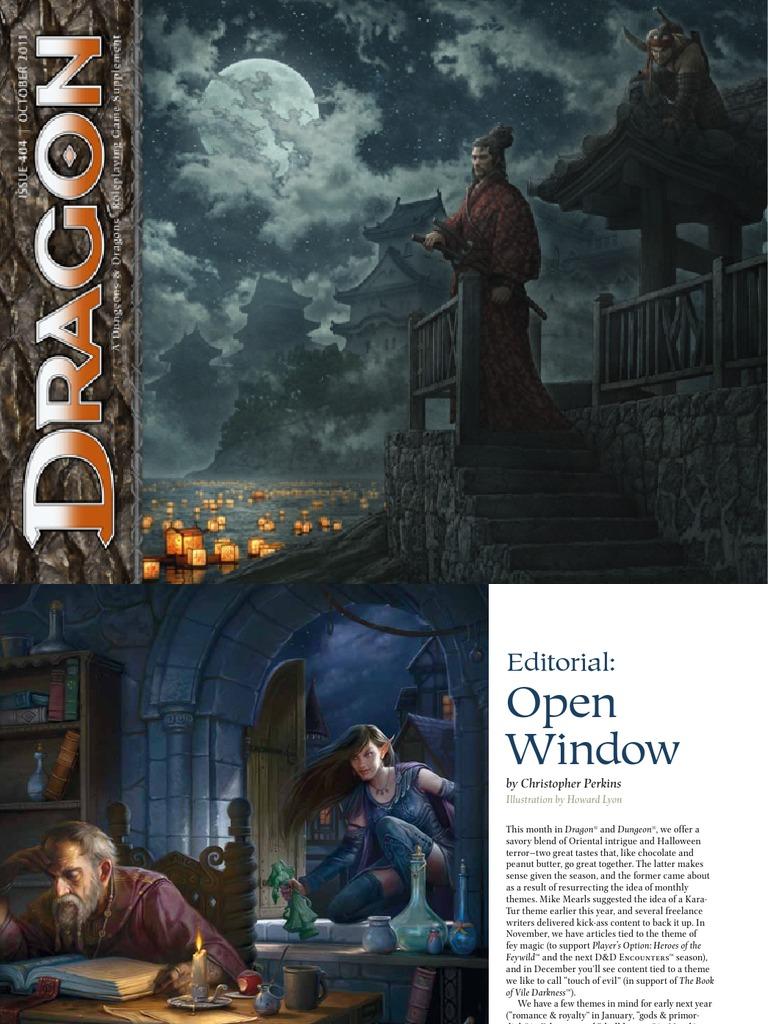 d&d 4th Dragon Magazine 404 | Ninja | Dungeons & Dragons