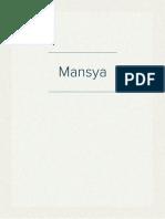 Mansya