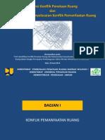 Potensi Konflik Penataan Ruang dan Rekomendasi Penyelesaian Konflik Pemanfaatan Ruang