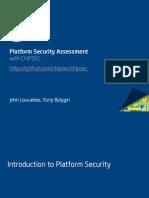 Platform Firmware Security Assessment WCHIPSEC-csw14-Final