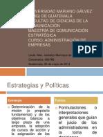 02052014 PPP S5 Estrategias Políticas y Premisas de Planeación