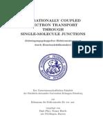 vibrationally coupled electron transport through single-molecule junctions