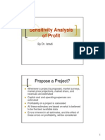 Present5 Sensitivity Analysis