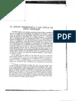 El Gótico Nominalista y Las Coplas de Jorge Manrique