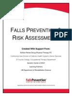 Falls Prevention Risk Assessments