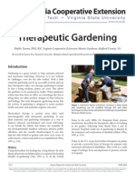 Straw Bale Therapeutic Gardening