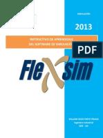 Instructivo de Aprendizaje Del Software Flexsim