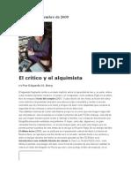 941 Berg, Edgardo (2007) El Crítico y El Alquimista