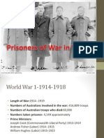 prisoners of war in ww1