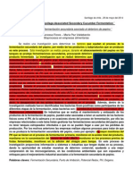 __Characteristics of Spoilage-Associated Secondary Cucumber Fermentation__ Vanessa Flores - Maria Paz Valdebenito