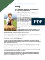 Straw Bale Gardening ~ Talking Farm