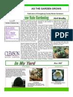 Straw Bale Gardening ~ South Carolina, Orangeburg County